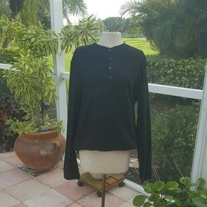 ZARA Black Thermal  Shirt Ladies